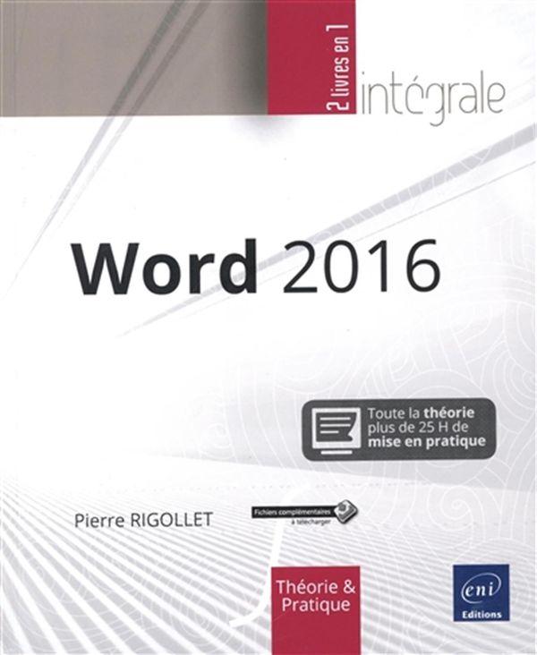 Word 2016 intégrale
