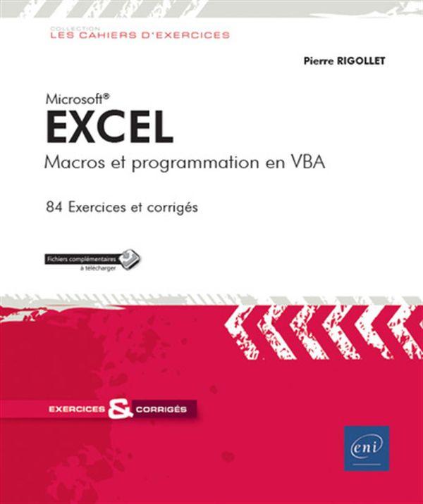 Excel : Macros et programmation en VBA