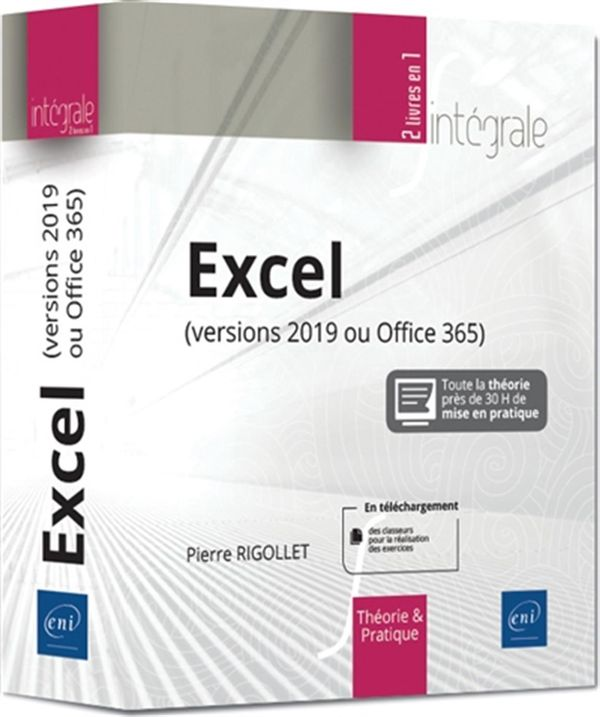 Excel (version 2019 ou Office) - Intégrale
