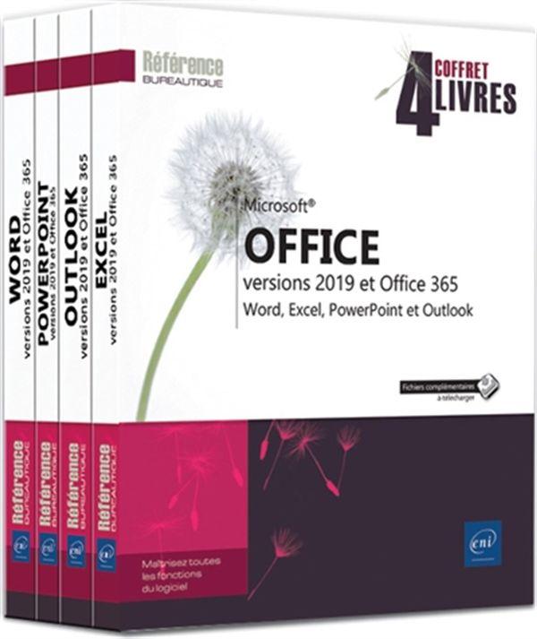Microsoft Office versions 2019 et Office 365