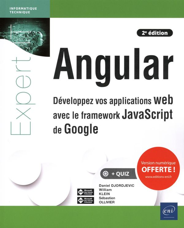 Angular - Développez vos applications web avec le framework JavaScript de Google 2e édition