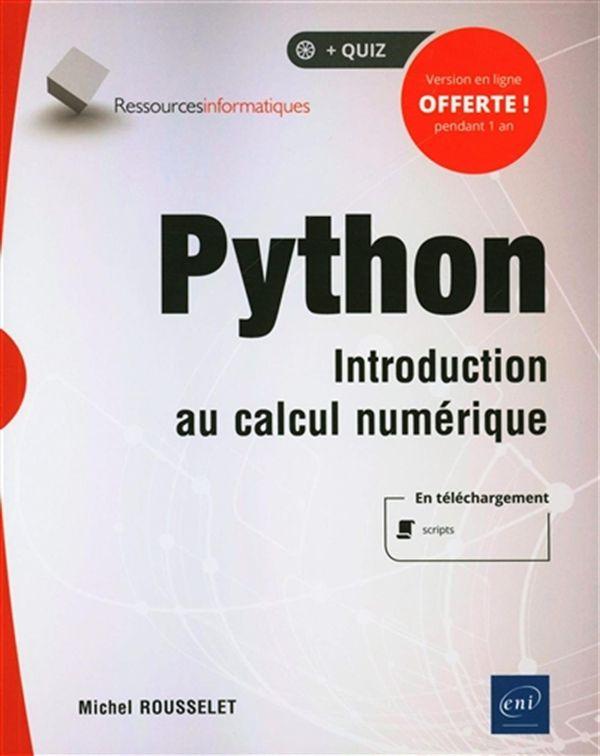 Python : Introduction au calcul numérique
