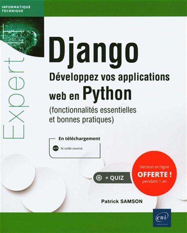 Django : Développez vos applications web en Python