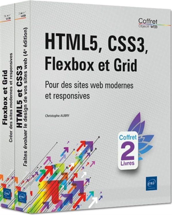 HMTL5, CSS3, Flexbox et Grid : Pour des sites web modernes et responsives