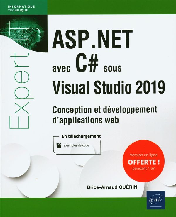 ASP.NET avec C# sous Visual Studio 2019 - Conception et développement d'applications web