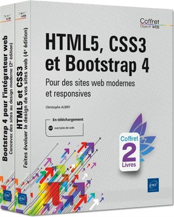 HTML5, CSS3 et Bootstrap 4 : Pour des sites web modernes et responsives