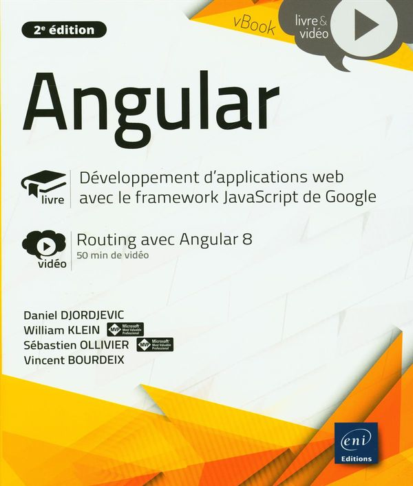 Angular - Développement d'applications web avec le framework JavaScript de Google