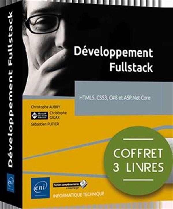 Développement Fullstack - HTML5, CSS3, C#8 et ASP.Net Core