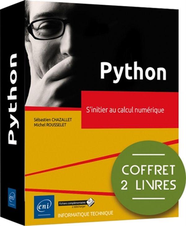 Python - Coffrets de 2 livres - S'initier au calcul numérique