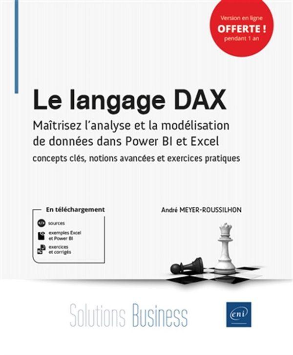 Le langage DAX : Concepts clés et exercices pratiques