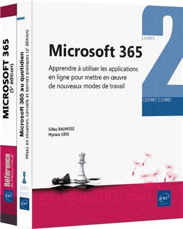 Microsoft 365 - Coffret 2 livres : Apprendre à utiliser les applications en ligne pour mettre en ...
