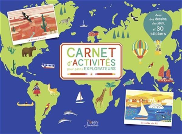 Carnets d'activités pour petits explorateurs