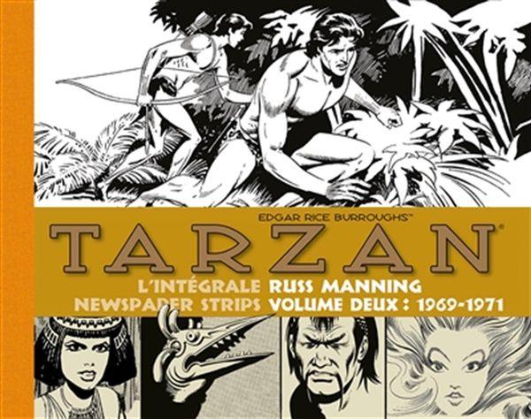 Tarzan L'intégrale Russ Manning Newspaper strips 02 : 1969-1971