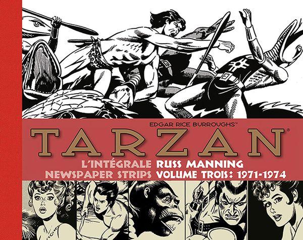 Tarzan  Intégrale Russ manning Newspaper strips 03 : 1971-1974