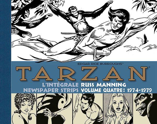 Tarzan Intégrale Russ Manning Newspaper strips 04 1974-1979
