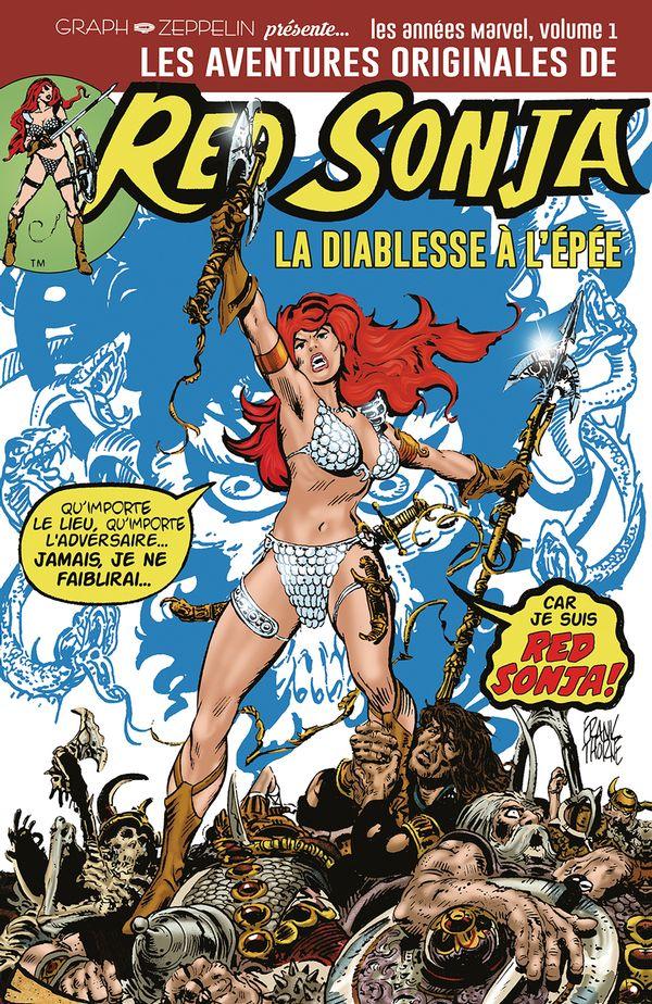Les aventures de Red Sonja 01 : La diablesse à l'épée