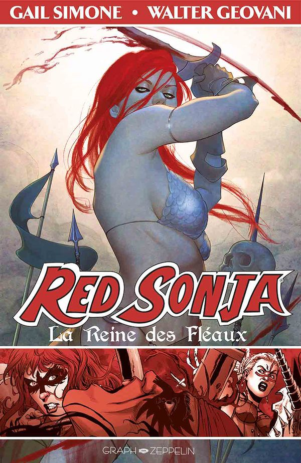 Red Sonja 01  La reine des fléaux