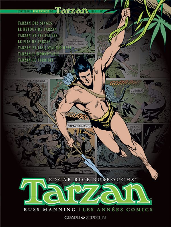 Tarzan : Les années comics 1965-1967