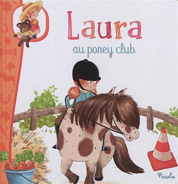 Laura au poney club