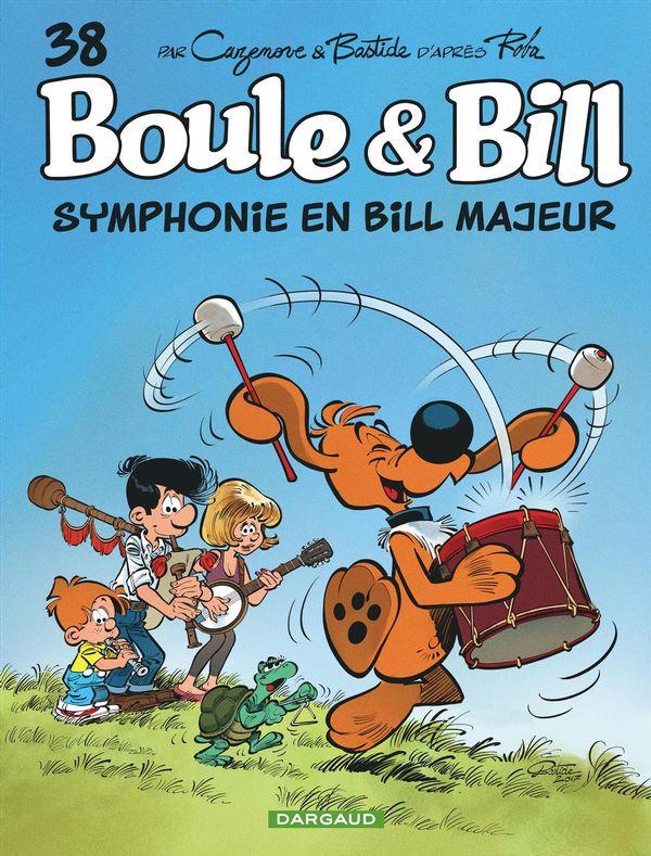 Boule & Bill 38 Symphonie en Bill majeur