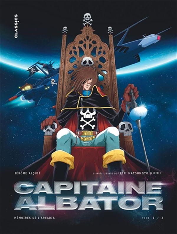 Capitaine Albator Mémoires de l'Arcadia 01 : Les doigts glacés de l'oubli