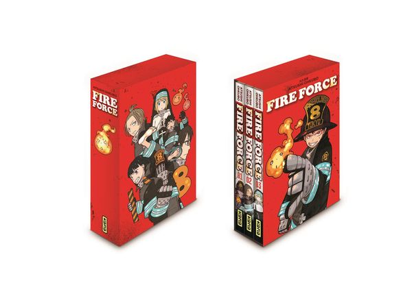 Fire Force coffret 01-03