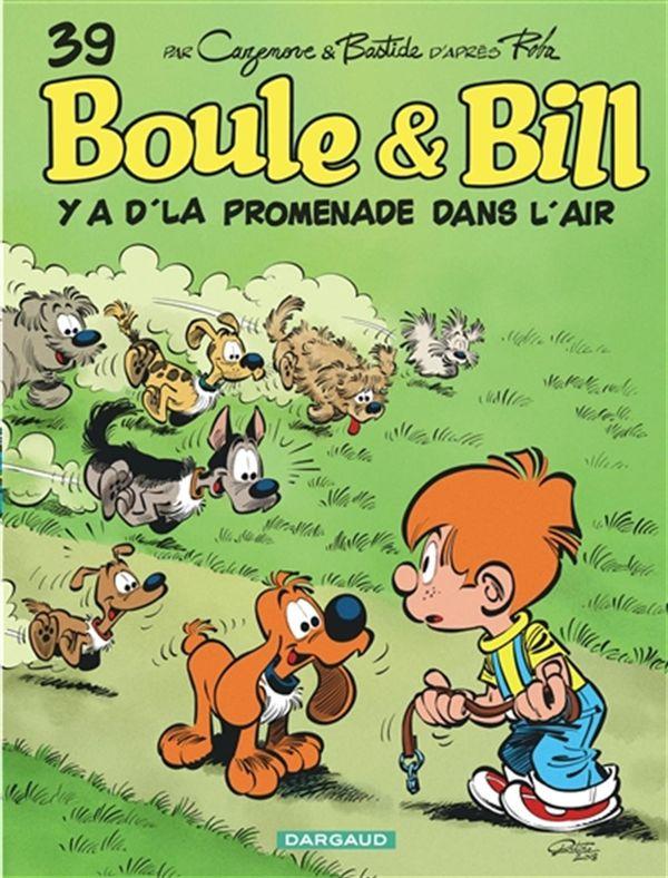 Boule & Bill 39 Y a d'la promenade dans l'air