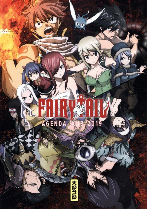 Fairy Tail Agenda 2018-2019