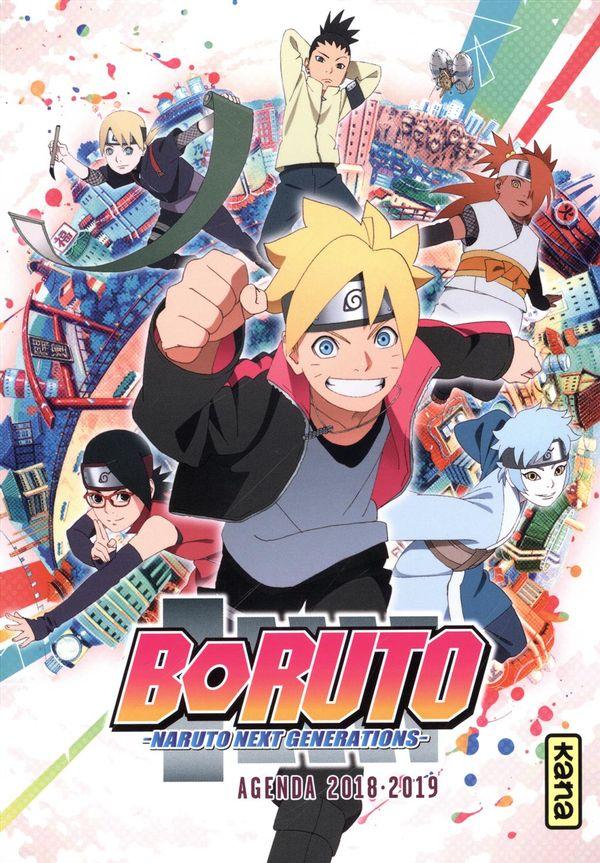Boruto  Naruto next generations  Agenda 2018-2019
