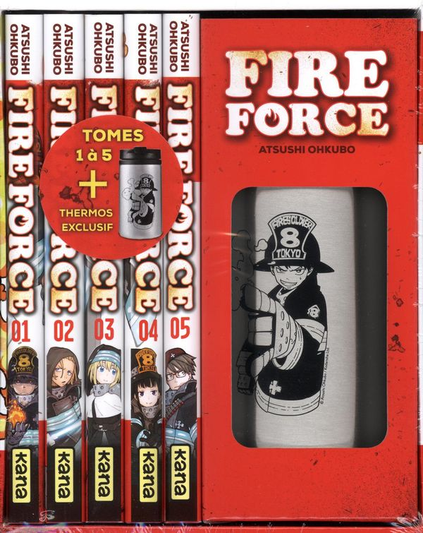 Fire Force Coffret 01-05 + Thermos