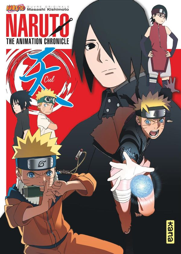 Naruto artbook 04  Naruto chronicles