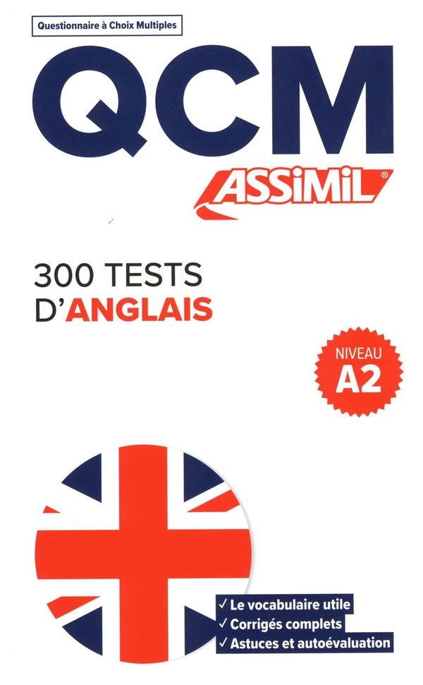 300 tests d'anglais - Niv. 2