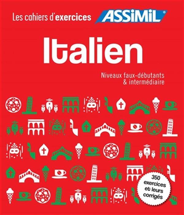 Coffret Italien - Niveaux faux-débutants & intermédiaire