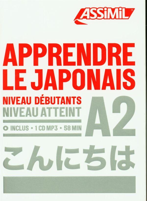 Apprendre le japonais niveau A2 CD MP3