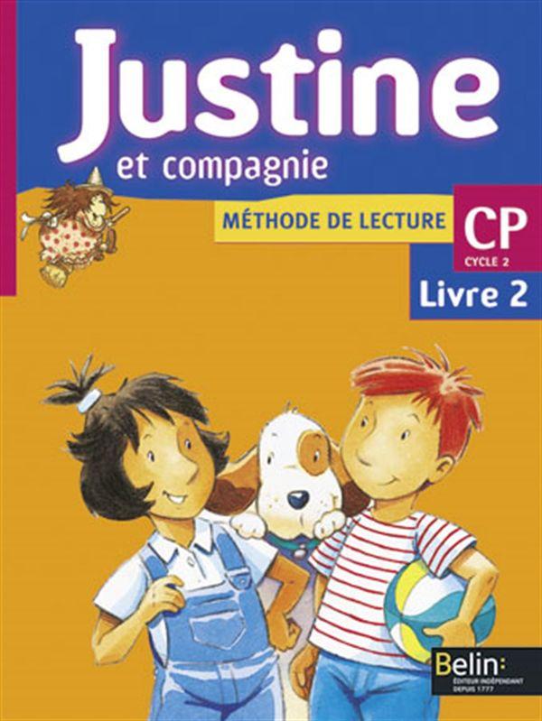 Justine et compagnie CP - Livre 02