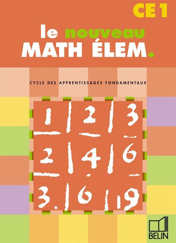 Math Elem - CE1