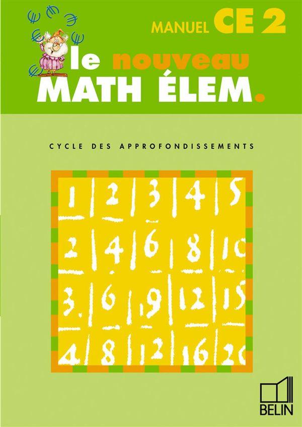 Math Elem - CE2 - manuel élève
