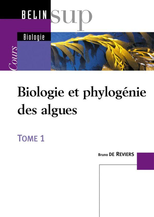 Biologie et phylogénie des algues 01