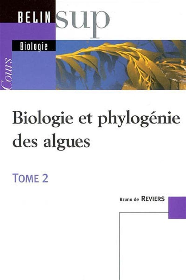 Biologie et phylogénie des algues 02