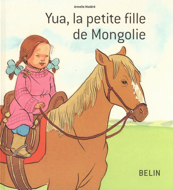 Yua, la petite fille de Mongolie