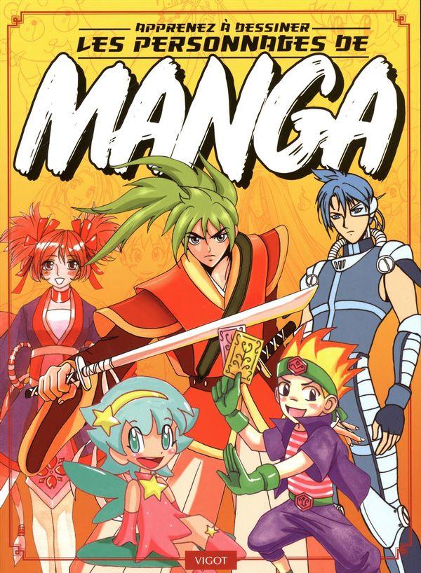 Apprenez à dessiner les personnages de manga