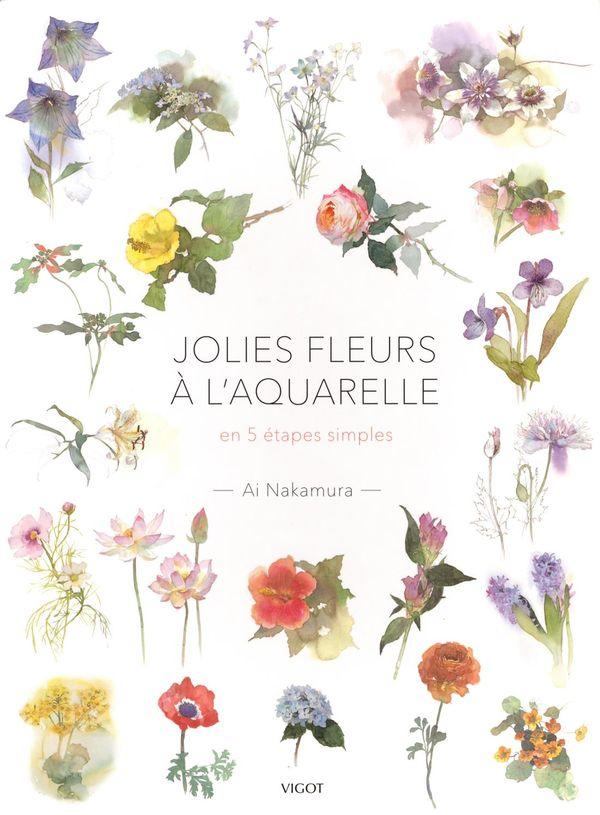 Jolies fleurs à l'aquarelle en 5 étapes simples