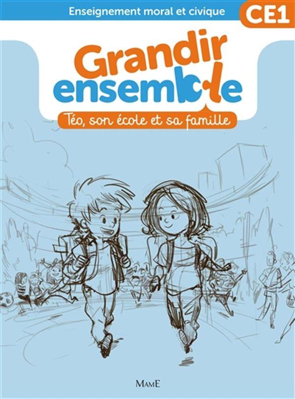 Grandir ensemble cycle 2 - livre enfant CE1
