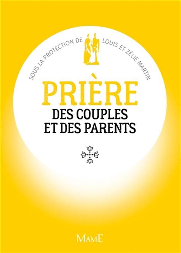 Prière des couples et des parents