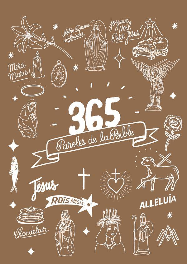 365 paroles de la Bible Catho rétro