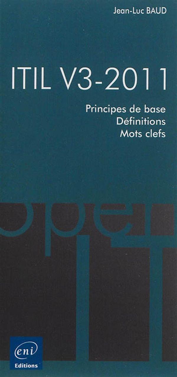ITIL V3-2011 - Principes de base
