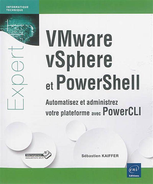 VMware vSphere et PowerShell