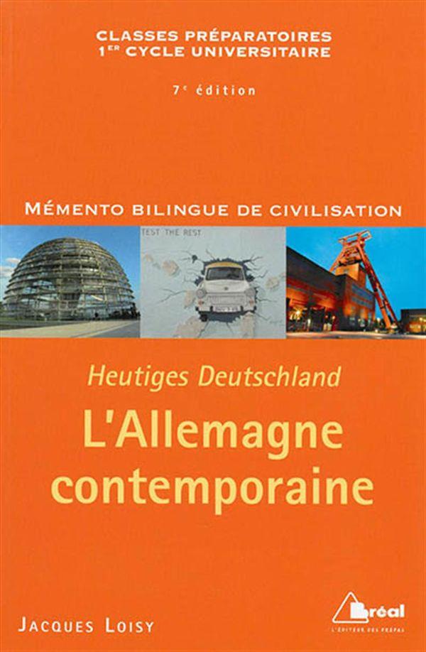 L'Allemagne contemporaine 7e édition