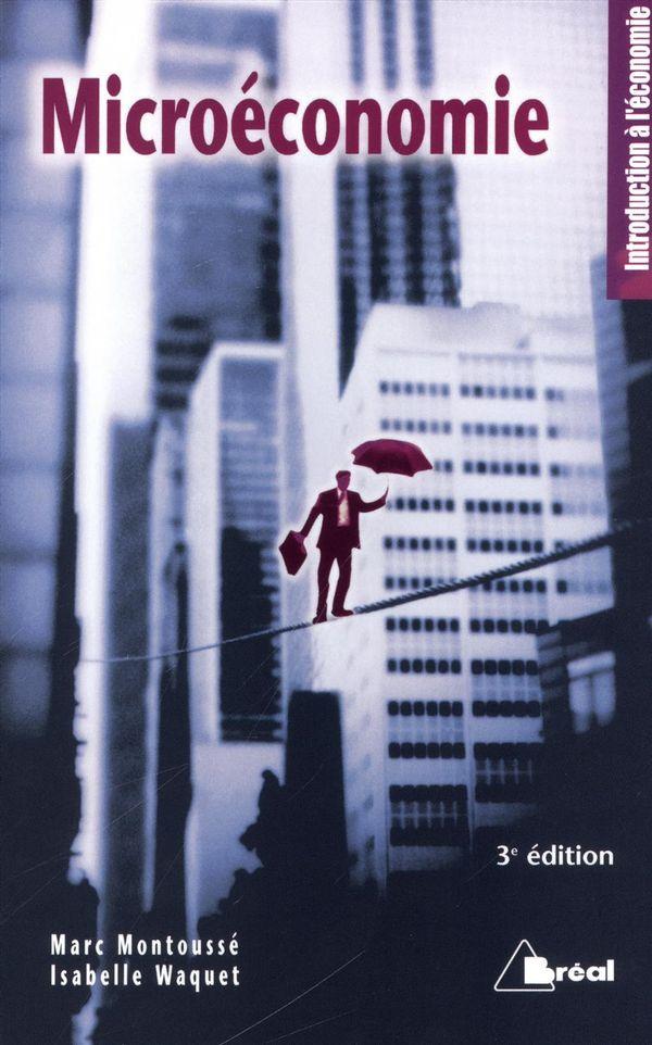 Microéconomie 3e édition