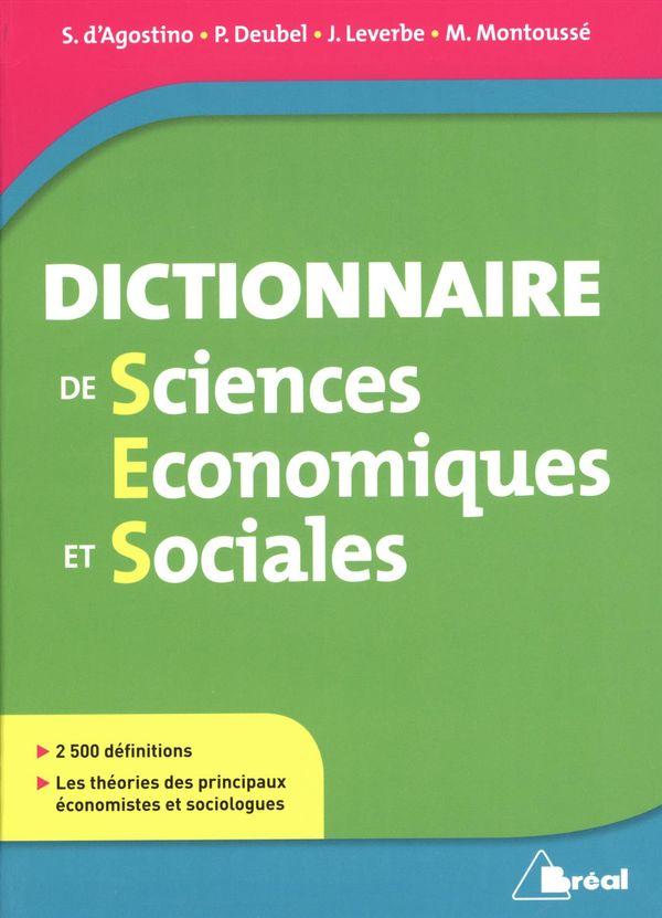 Dictionnaire de sciences économiques et sociales N.E.